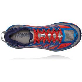 Hoka One One Mafate Speed 2 Sko Herrer, imperial blue/mandarin red